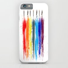 Paint abstract iPhone 6 Slim Case