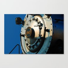 Locomotive nose Canvas Print