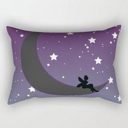 Fairy Moon Rectangular Pillow