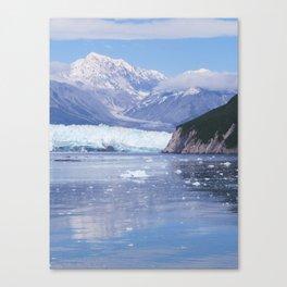 Glacier Summit Reflection Canvas Print