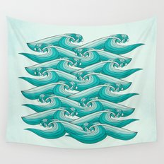 Ocean Vibes Wall Tapestry
