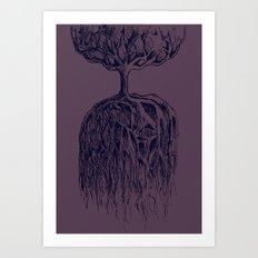 One Tree Planet Art Print