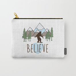 Believe in Bigfoot Carry-All Pouch