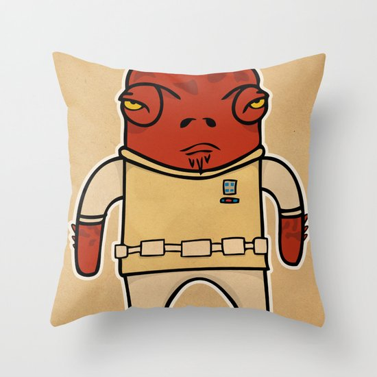 Akbar Throw Pillow