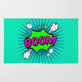 Boom Blue Boom Rug