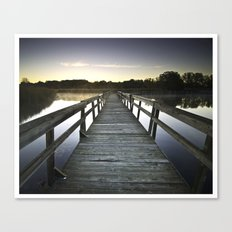 Good Morning October Canvas Print