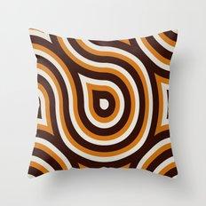 Retro Look II Throw Pillow