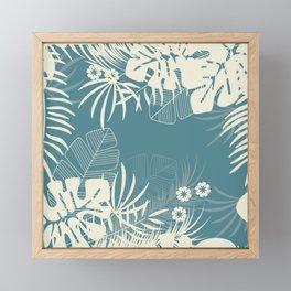 Tropical pattern 047 Framed Mini Art Print