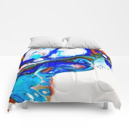 Butterfly wing Comforters