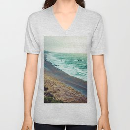 Good Morning Beach Unisex V-Neck