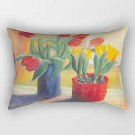longing for spring - tulip Rectangular Pillow