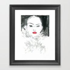 Beauty #1 Framed Art Print