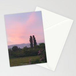 Mont Ventoux Provence Vaucluse Landscape  Stationery Cards