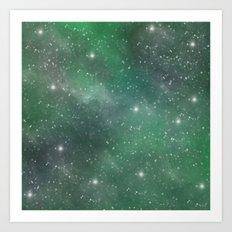 Cosmic Space Art Print