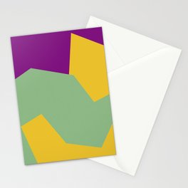 Minimalism Abstract Colors #15 Stationery Cards