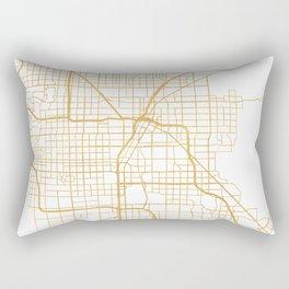 LAS VEGAS NEVADA CITY STREET MAP ART Rectangular Pillow