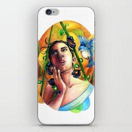 Bird whisperer iPhone Skin