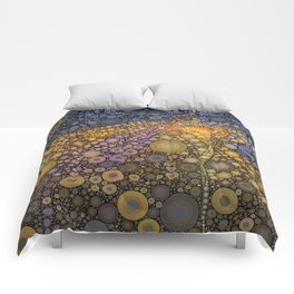 Deep Roots Abstract Comforters