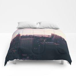 NYC Sky Comforters
