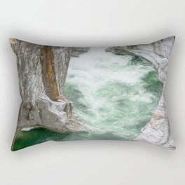 Il Fiume Verzasca Rectangular Pillow