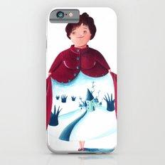 winter lady iPhone 6s Slim Case