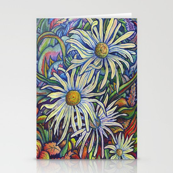 Wild Daisies Stationery Cards