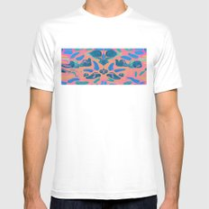 Sharks Tooth White Mens Fitted Tee MEDIUM