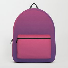 Bright Pink Ultra Violet Gradient | Pantone Color of the year 2018 Backpack