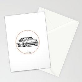 Crazy Car Art 0030 Stationery Cards