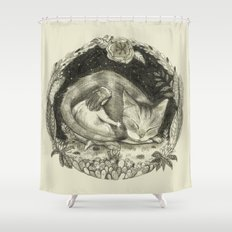 How long will I love you? As long as stars are above you.  Shower Curtain