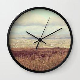 Cotton Wool Sky Wall Clock