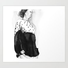 Fashion Illustration – Hana Cha S/S 2013 Art Print
