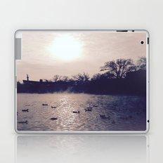 Winter lake Laptop & iPad Skin