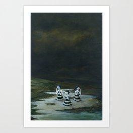 Complex ( full image) Art Print