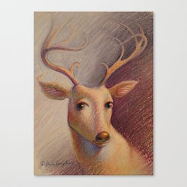 """Graceful Gaze"" Canvas Print"