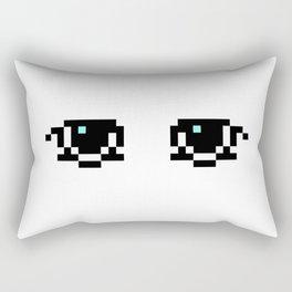 Neutral eyes Rectangular Pillow