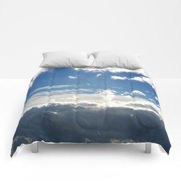 Windy Day Sky Comforters
