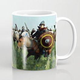 Medieval Army in Battle Coffee Mug