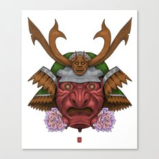Redskin Samurai  Canvas Print