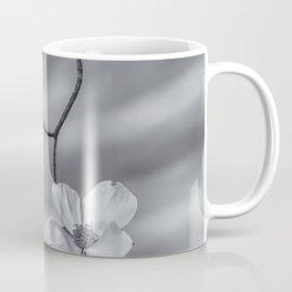 Blooming Dogwood bw Coffee Mug