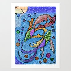 Eye on the Fish Art Print