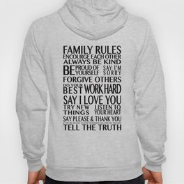 Family Rules 2 Hoody