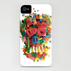 Death and Tooth Decay Slim Case iPhone (4, 4s)
