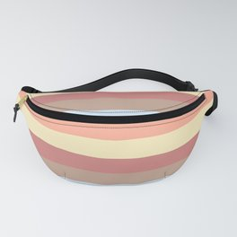 lumpy or bumpy lines abstract - QAB281 Fanny Pack