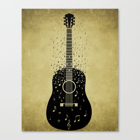 Musical ascension Canvas Print