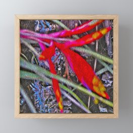 Bromeliad in the Cathedral Framed Mini Art Print
