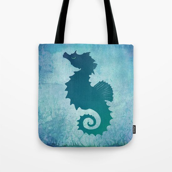 Seahorse of a Different Color ~ Marine Life Tote Bag