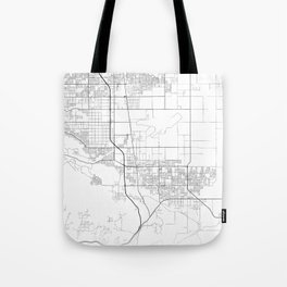 Minimal City Maps - Map Of Palmdale, California, United States Tote Bag