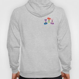 Three Little Mermaids Hoody