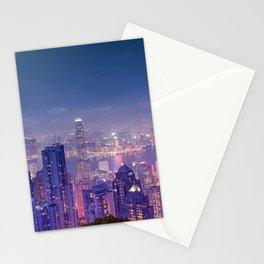 Hong Kong View V Stationery Cards